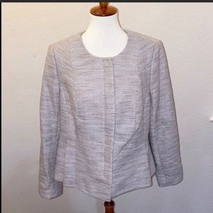 The Limited Scandal Collection Sz 14 Tweed Blazer